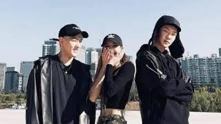 HOONY winner × LISA blackpink ×  DK ikon _moment ygx (fanboy)
