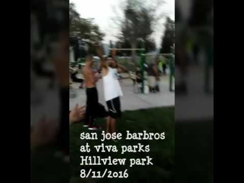 SanJoseBarBros at Vivaparks event at Hillview park in East San Jose