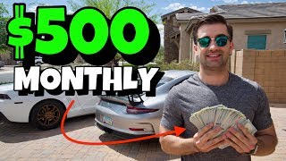 $500 Profit Monthly Driving A Maserati Quattroporte (For Beginners)