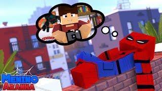 Minecraft: MENINO ARANHA - UM ANO SENDO SUPER HERÓI!!! #148