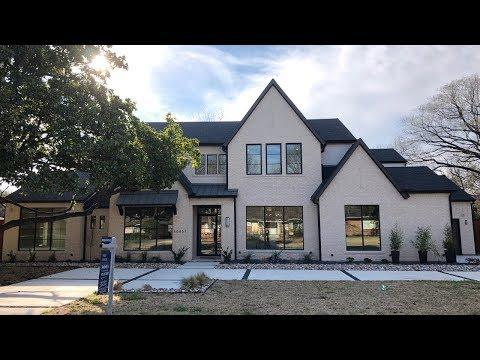 Brand New 2018 Preston Hollow (Dallas) Construction Home!