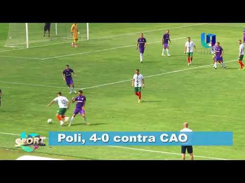 TeleU: Poli, 4-0 contra CAO