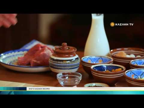 """Gio's Kazakh Recipes"" #6 (16.11.2016) - Kazakh TV"