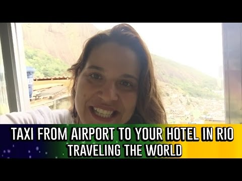 TAXI FROM AIRPORT TO YOUR HOTEL IN RIO