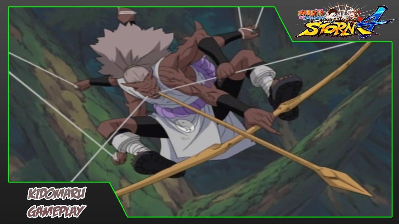 Naruto Shippuden Ultimate Ninja Storm 4 Kidomaru Moveset Gameplay [Normal + Kidomaru CS2 ...