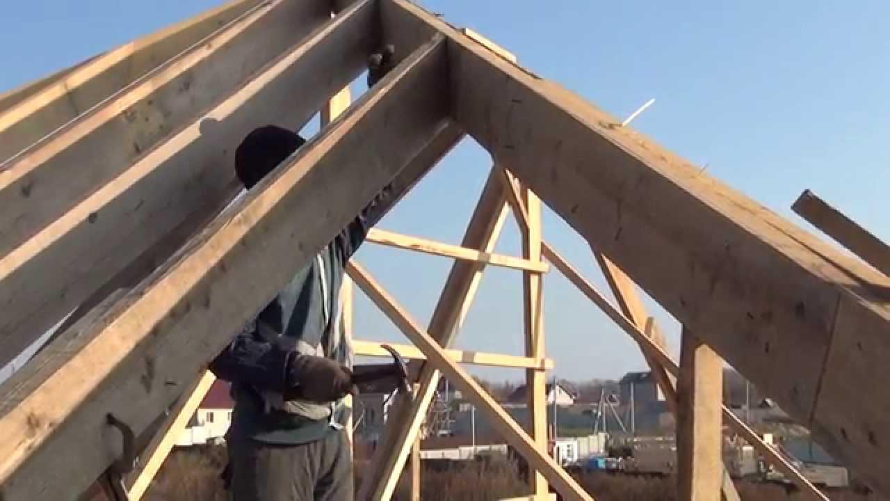 Крыша своими руками 4 скатная как правильно построить фото 748