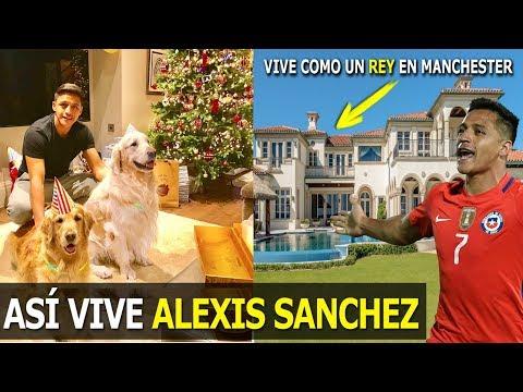 ASÍ ES LA VIDA DE ALEXIS SANCHEZ,DE POBRE A VIVIR COMO UN REY EN MANCHESTER,SU BARRIO EN GOOGLE MAPS