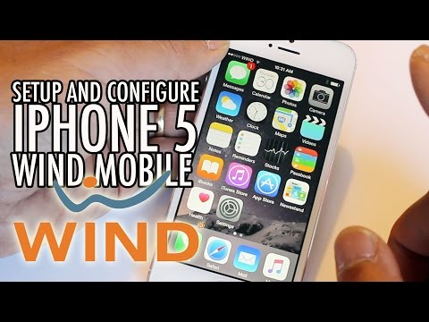 iPhone 5 for WIND Mobile APN MMS FaceTime Setup on iOS 8
