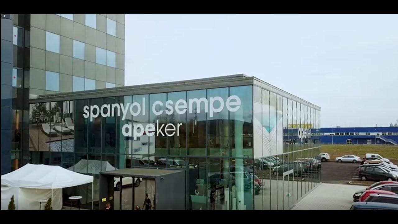 APEKER KFT SPANYOL CSEMPE MEGNYITÓ - YouTube