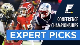 2019 NFL Conference Championship Game Picks (Against the Spread)