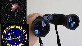 Beginners guide to Binoculars for Astronomy