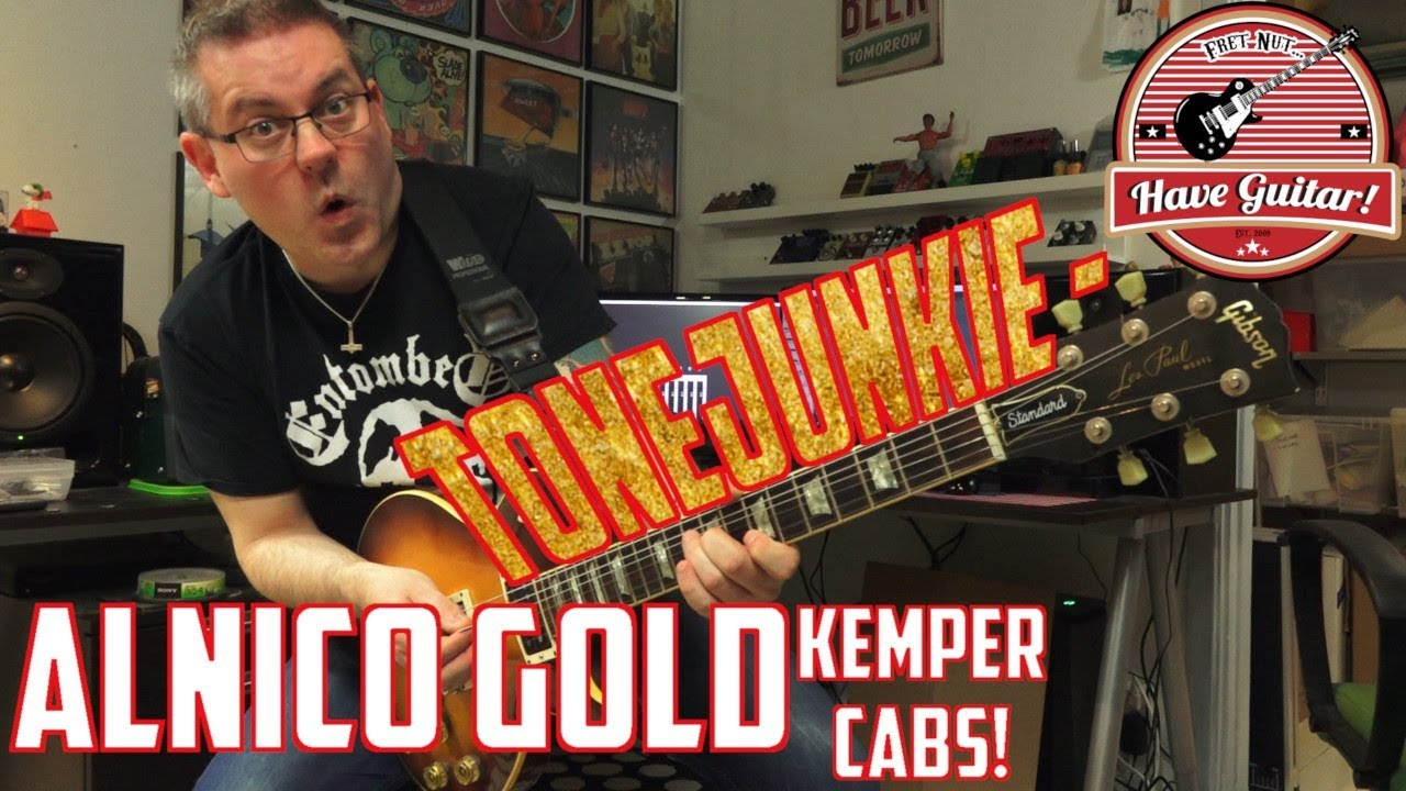 Alnico Gold Kemper Cab Pack by ToneJunkie (Kemper profile cabs demo)