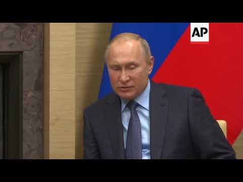 Putin voices support for Venezuela's Maduro