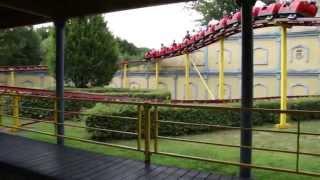 Familienachterbahn (Family Roller Coaster) at Schloß Beck Freizeitpark