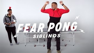 Siblings Play Fear Pong (Joy vs. Raft) | Fear Pong | Cut