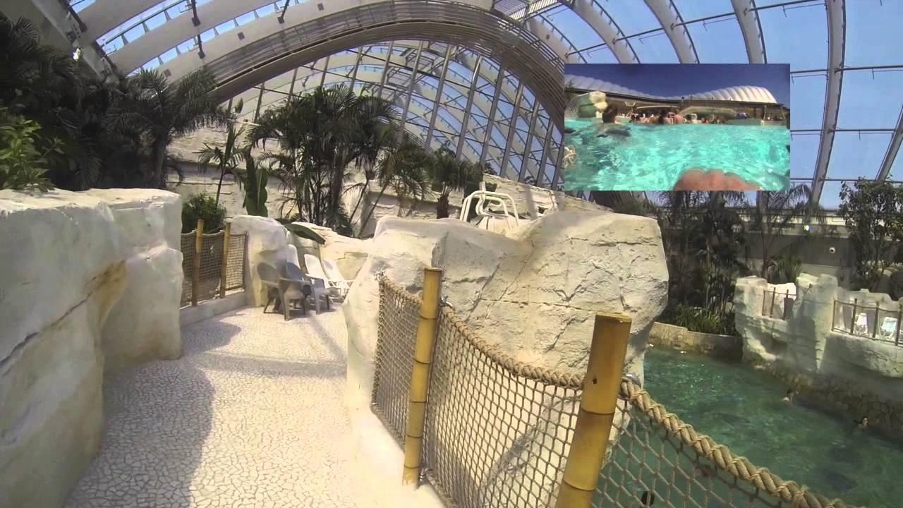 Center Parcs Bois Aux Daims Piscine Center Parcs Exterieure Et Toboggan Aquatique Youtube