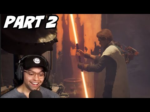 Jedi: Fallen Order - GETTING ORANGE DOUBLE BLADED LIGHTSABER - Part 2