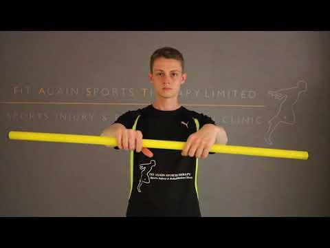 Wrist Extensor Eccentric Bar Rotations