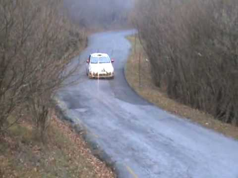 Test 500 Abarth R3t Rally Youtube
