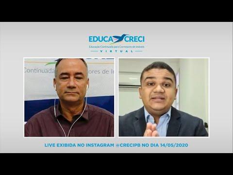 Educacreci Virtual | Live com o especialista em vendas Alberto Marinho