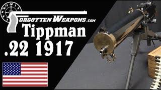 Tippman's Half-Scale .22 Rimfire Browning 1917 Machine Gun