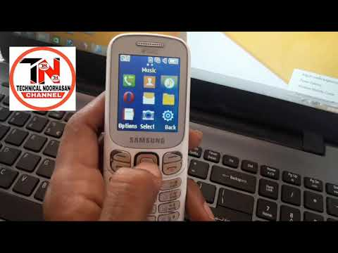How to Fix Samsung B313e Music Phone Memory Full Some items