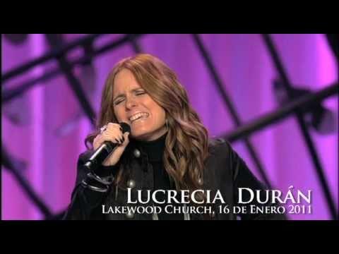 Lucrecia Duran cantando en Lakewood Church - ESPIRITU SANTO