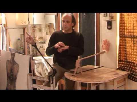 Gerardo Feldstein - Entrevista en su taller