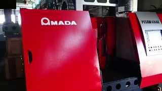Amada Pcsaw430ax Horizontal Pulse Cutting Metal Cutting Band Saw For Sale