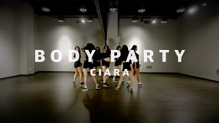 Ciara - Body Party Choreography by Euanflow @ ALiEN Dance Studio