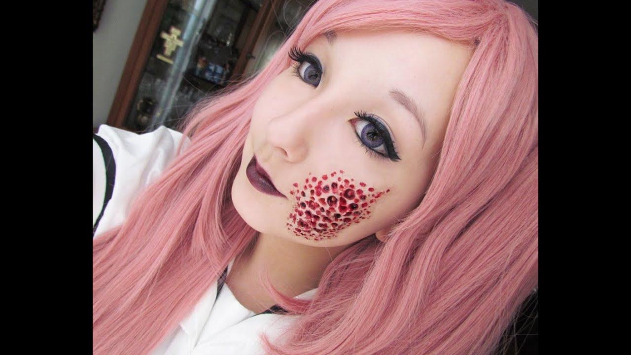 Halloween Cream Makeup