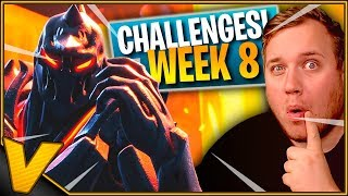 RUIN ER KLAR TIL CHALLENGES *WEEK 8* :: Fortnite Dansk