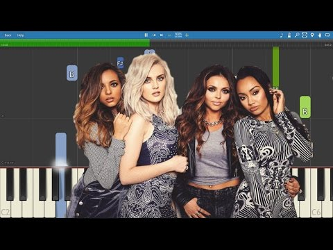 How to play Touch - Piano Tutorial - Little Mix