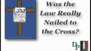Was the Law Really Nailed to the Cross