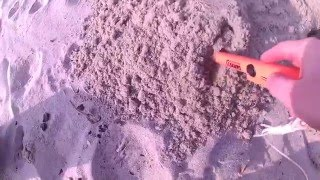 Пляжный поиск с металлоискателем X-Terra 705(Пляжный поиск с металлоискателем X-Terra 705. Первый выход на пляж 7 марта 2016 года. Из серии