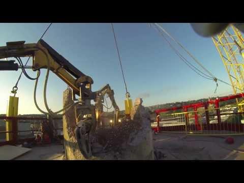 Industrial Chimney Stack Demolition by Dolan Demolition