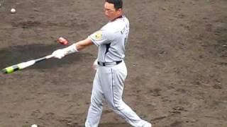 2009年2月15日 阪神タイガース沖縄キャンプ.