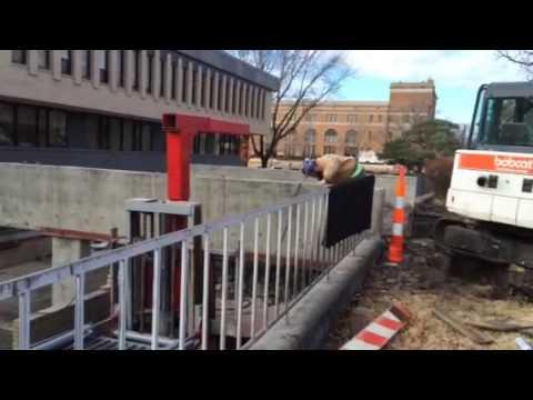 Goodbye to City-County Building bridge