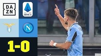 Ex-Dortmunder Immobile entscheidet Partie: Lazio - Napoli 1:0 | Serie A | DAZN Highlights