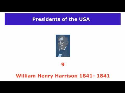 Learn Presidents USA List