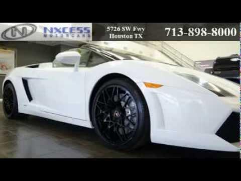 2010 Lamborghini Gallardo Spyder For Sale