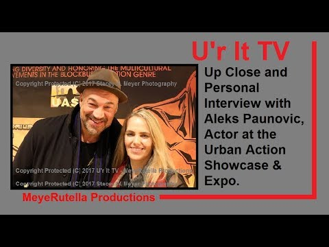 Aleks Paunovic, Actor  at Urban Action case & Expo