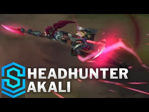 Headhunter Akali (2018) Skin Spotlight - League of Legends