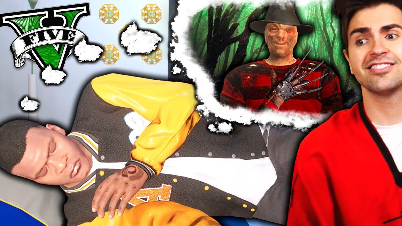 ENTRO a LOS SUEÑOS de  FRANKLIN en GTA 5! Grand Theft Auto V - GTA V Mods