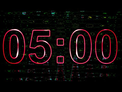 """5 Minute Countdown ⏱️ Timer 5 Minute with Inspiring Music """"3 Trance Stages"""""""