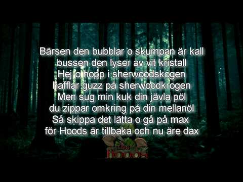 AronChupa - The Hoods (Lyrics/Karaoke)