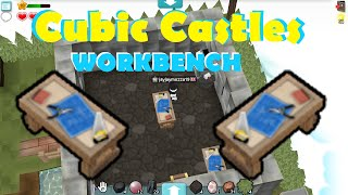 TUTORIAL Cubic Castles - How To Craft a Workbench