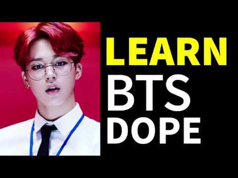 BTS - DOPE (Easy Lyrics)