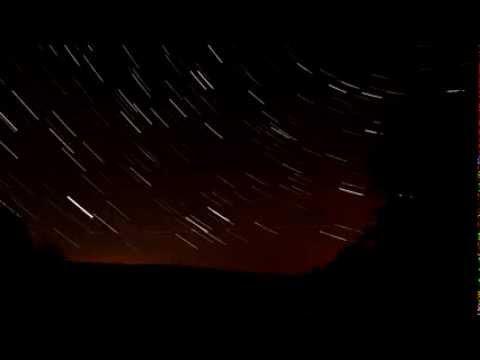 Звездное небо - таймлапс