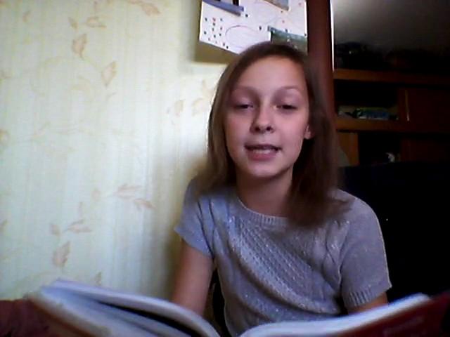 Изображение предпросмотра прочтения – АнастасияЛабутина читает произведение «Свинья под дубом» И.А.Крылова